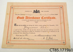 Certificate [Seymour Read]; [?]; 1926; CT85.1719a1