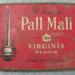 Red tobacco tin: Rothmans Pall Mall Virginia Medium; Rothmans; 0000.0029