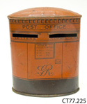 Box, money; Burnett Limited; c1920s; CT77.225