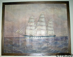Painting, oil [Ship 'Neotsfield']; Hayward, C H (1864-1912); early 20th century; CT78.369
