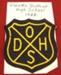 School Monogram; Owaka District High School; 1922; CT89.1919D