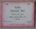 Ticket, Catlins Centennial Ball, 1966; [?]; 1965; 2010.429.17
