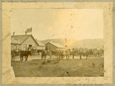 Photograph [Owaka Dairy Factory]; Labatt, E A (Mrs); 1902; CT2057c