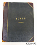 Book, music [Captive Memories]; 1849; CT78.477
