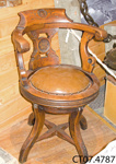 Chair, saloon; Union Steam Ship Co of New Zealand Ltd; 20th century; CT07.4787