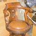 Chair, saloon; Union Steam Ship Co of New Zealand Ltd; 20th century; CT07.4787