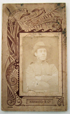 Photograph [Thomas Cox]; Hansard & Co, Zealandia Studio; [?]; CT80.1215f