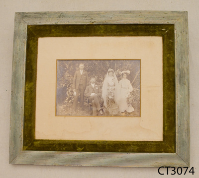 Photograph [Wedding party]; Wilkie, C; Early 20th century.; CT3074