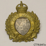 Badge, military; [?]; 1914-1918; CT78.847a