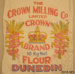 Bag, flour; Crown Milling Co Ltd; [?]; 2010.385