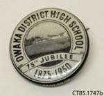Badge, commemorative; [?]; c1950; CT85.1747b