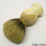 Brush, shaving; [?]; [?]; CT85.1707d