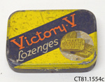 Tin [Victory Lozenges]; Fryer & Co (Nelson) Ltd; [?]; CT81.1554c