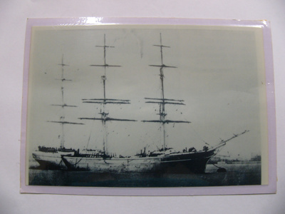 Photograph - The Surat - wrecked on Surat Bay; -; CT08.4826.A3