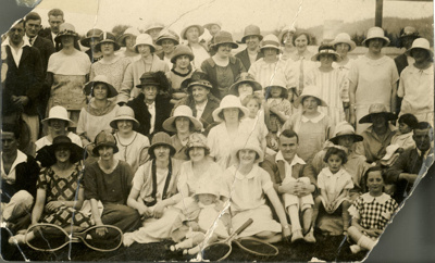 Photograph [Tennis Club]; [?]; c1920s; 2010.746
