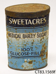 Tin [Sweetacres Barley Sugar]; [?]; [?]; CT83.1569f