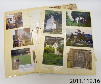 Pages, album [McLay]; [?]; Late 20th century; 2011.119.16