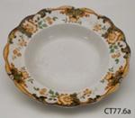 Plate, soup; Doulton & Co Ltd; Post 1902; CT77.6a