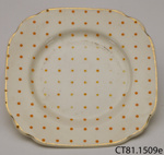 Saucer; Empire Porcelain Co; c1930s-1950s; CT81.1509e
