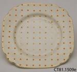 Saucer; Empire Porcelain Co; c1930s-1950s; CT81.1509e