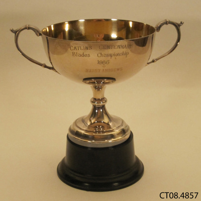 Trophy [Catlins Centenary Blade Shearing Championship]; [?]; 1966; CT08.4857