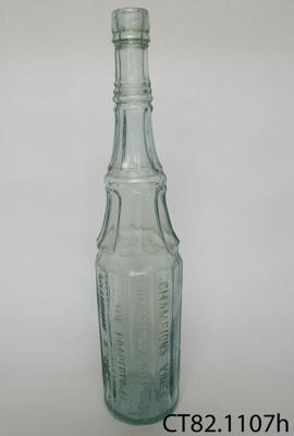 Bottle, vinegar; Champion & Slee Ltd; CT82.1107h
