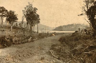 Photograph [Catlins Lake]; [?]; [?]; CT98.2084c
