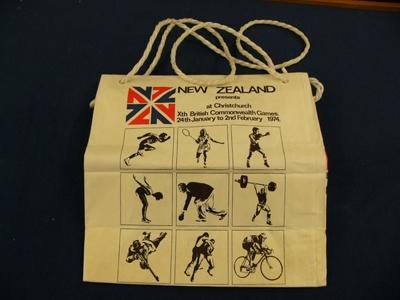 Bag: Xth British Commonwealth Games, Christchurch; Xth British Commonwealth Games; 1974; CT01.3090F