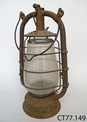 Lamp, hurricane; CT77.149