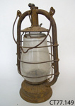 Lamp, hurricane; CT77.149