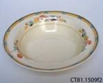 Bowl, dessert; Wood & Sons Ltd; Post 1930; CT81.1509f2