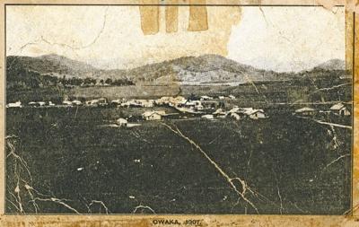 Photograph [Owaka 1907]; [?]; 1907; CT82.1454a