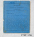 School equipment, School Exercise Book and Standard Certificate, William Reay, 1887; William Reay; 1882-1887; CT80.1325 c, e