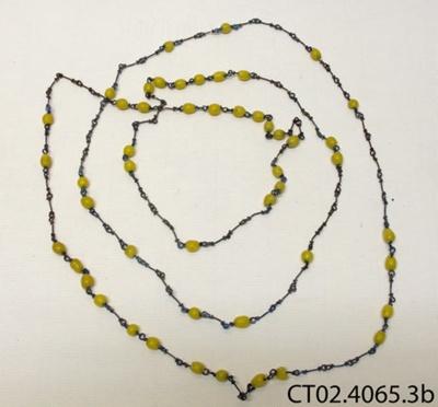 Beads, rosary; [?]; [?]; CT02.4065.3b
