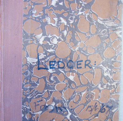 Ledger, White Stores 1967; 1967; CT93.1041a