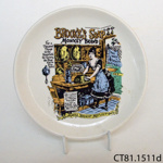 Dish; Lord Nelson Pottery; CT81.1511d