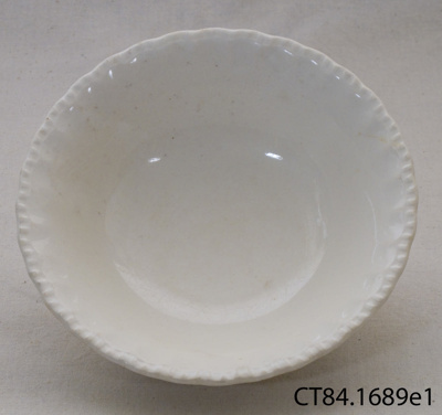 Bowl, dessert; W H Grindley & Co; c1936-1954; CT84.1689e1