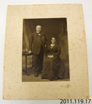 Photograph [Mr and Mrs Blair]; G A Brown, photographer; c1890s; 2011.119.17