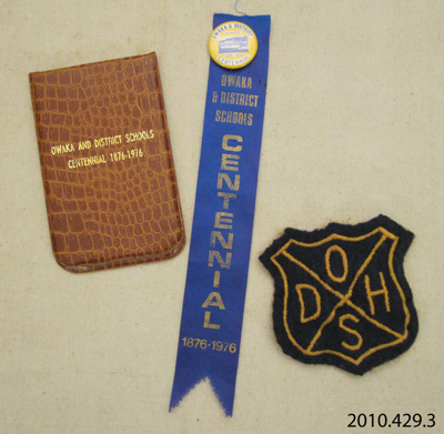 Ephemera [Owaka and District Schools Centennial]; [?]; c1976; 2010.429.3
