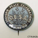 Badge, commemorative; Otago Early Settlers' Association; 1919; CT78.842b