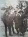 B & W Photo of F Adams, J Hall, C Adams, Mrs Hall (nee Adams), Papatowai; 0000.0198