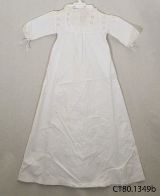 Gown, christening; [?]; Early 20th century; CT80.1349b