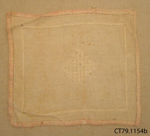Sample, sewing; [?]; c1920s; CT79.1154b