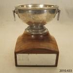 Trophy [Glenomaru Badminton Club]; [?]; c1950s; 2010.433