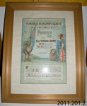 Certificate of appreciation [Corporal William Moffat]; Owaka and District Patriotic Society; 1919; 2011.201.2