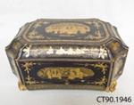 Box, sewing; [?]; 1820-1840; CT90.1946