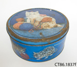 Caddy, tea; Choysa Tea; 20th century; CT86.1837f