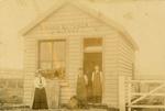 Photograph [Owaka butchery, A. Todd]; [?]; [?]; CT79.1055e