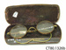 Spectacles and case; [?]; [?]; CT80.1326b