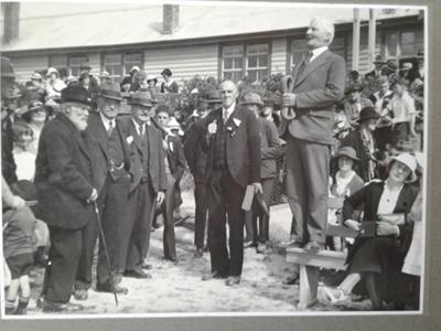 H.A Brough and W.R. Brough Owaka School Celebrations 1936; E A Phillips; 1936; 0000.0588